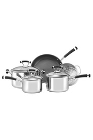 CIRCULON  5Pc Contempo Stainless Steel Cookset
