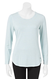 LMA ACTIVE Womens Long Sleeve Stretch Tee