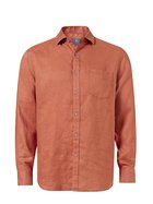 WEST CAPE Mens Pure Linen Long Sleeve Shirt