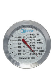 CUISENA Meat Thermometer Round With Skewer
