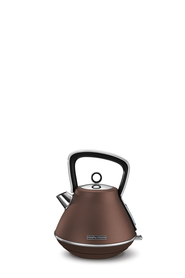 MORPHY RICHARDS Evoke Metallics Pyramid Kettle Bronze