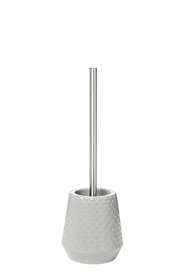 SHAYNNA BLAZE Airlie embossed toilet brush set