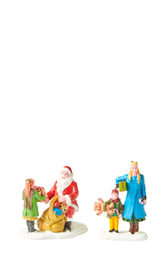 LEMAX Presents from Santa Figurine Set of 2