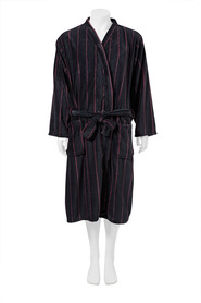 BRONSON MENS PRINT FLEECE GOWN