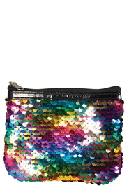 IS GIFT Reversible Sequin Coin Purse - Rainbow