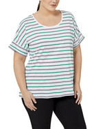 KHOKO PLUS Cotton Stripe Tee