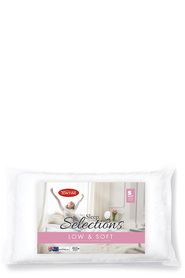 TONTINE SLEEP SELECT PILLOW LOW & SOFT
