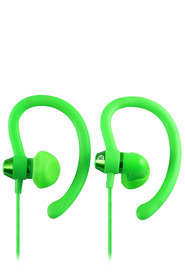 MOKI 90 Degree Sports Earphones Green