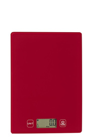 SMITH & NOBEL Kitchen scale 5kg red