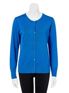 KHOKO SMART Viscose Blend Flat Button Cardigan