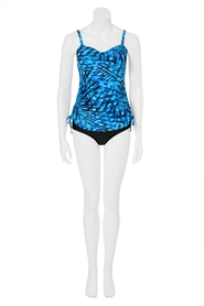 KHOKO COLLECTION Print Tankini Set