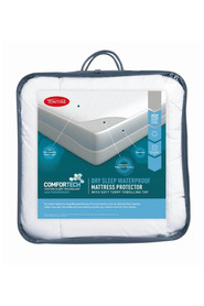 TONTINE Comfortech Drysleep Waterpoof Mattress Protector King Single Bed
