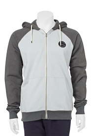 QUICKSILVER RAGLAN ZIP FLEECE