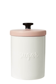 ANNA GARE EMBOSSED SUGAR CANISTER