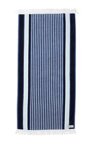 ONKAPARINGA FRASER STRIPED BEACH TOWEL 90X180CM