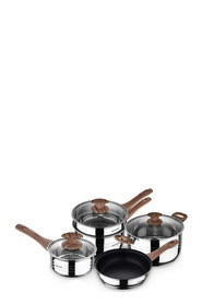BERGNER Granito 5pc Stainless Steel Cookset