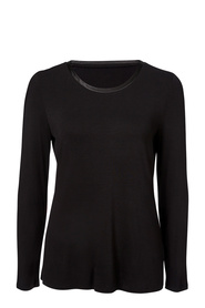 SAVANNAH Long Sleeve Viscose Elastane Top