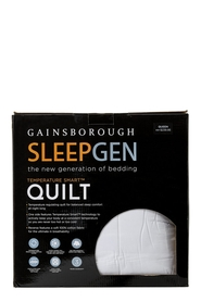 GAINSBOROUGH SleepGen Temperature Smart Quilt Queen Bed