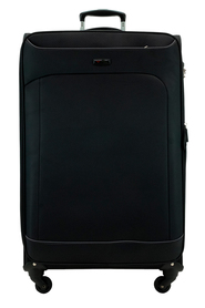 COURIER Connection 82cm 4WD Trolley Case Black