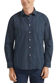 BACK BAY Printed Soft Wash Cotton Shirt