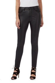 RED HERRING Holly Mid Rise Coated Super Skinny Jean
