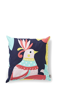 MOZI Summer Birdie Cotton Canvas 50x50cm Cushion