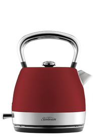 SUNBEAM London kettle ruby red