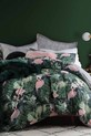 LOGAN AND MASON Flamingo Jungle Quilt Cover Set King Bed