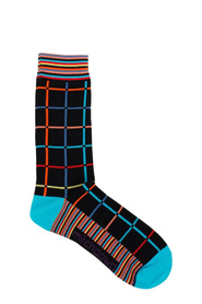 MITCH DOWD FINE MULTI CHECK SOCK XMDM771