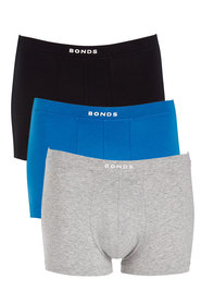 BONDS 3 Pack Hipster Trunk