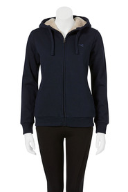 DIADORA Womens Fur Lined Zip Thru Hoodie