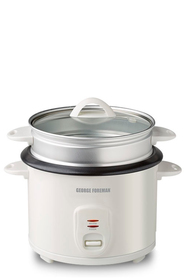 GEORGE FORMAN 8 Cup Rice Cooker