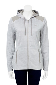 FILA Womens Tffiny Hall Quilted Zip hoody