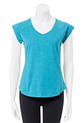 LMMA V NECK RAGLAN COTT RICH, FOREST, S