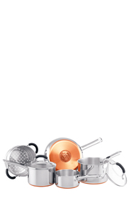 RACO Copper Base 5pc Stainless Steel Cookset