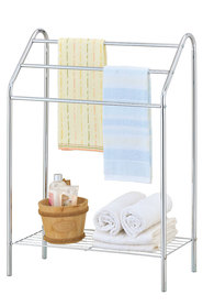 STORE & ORDER 3 Tier Towel Stand With Lower Rack