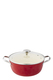 SMITH & NOBEL Lightweight Cast Iron Red Casserole 26cm