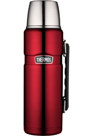 THERMOS  King Stainless Steel Red Flask 1.2L