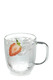 PYREX Double Wall 2pc Coffee/Tea Mugs 250ml