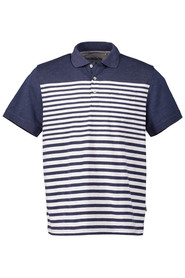 BRONSON Engineered Slub Stripe Polo