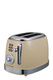 SMITH & NOBEL Retro 2 Slice Toaster Cream