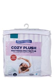 PROTECT A BED Cozy Plush Mattress Protectors Queen Bed