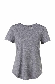 LMA ACTIVE Space Dye Scoop Tee