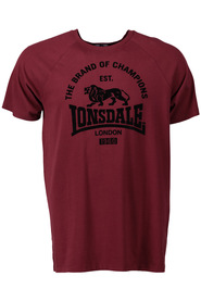 LONSDALE Heathrow Print Tee
