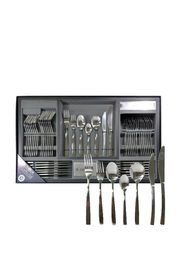 TABLEKRAFT 56PC DAHLIA CUTLERY SET 18/0