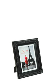 LIFESTYLE BRANDS Baroque 5X7inch Black Photo Frame