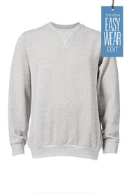URBAN JEANS CO Textured Crew Neck Jumper