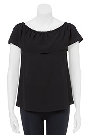 KHOKO Maggie Textured Off The Shoulder Blouse