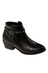KHOKO RUBY SIDE BUCKLE ANKLE BOOT