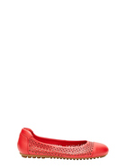 HUSH PUPPIES LANTANA LASER CUT DETAIL BALLET